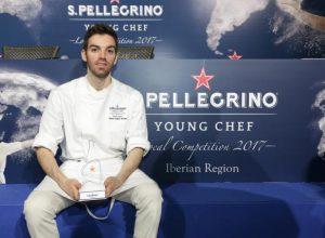 David Andrés luchará por convertirse en el mejor chef joven del mundo